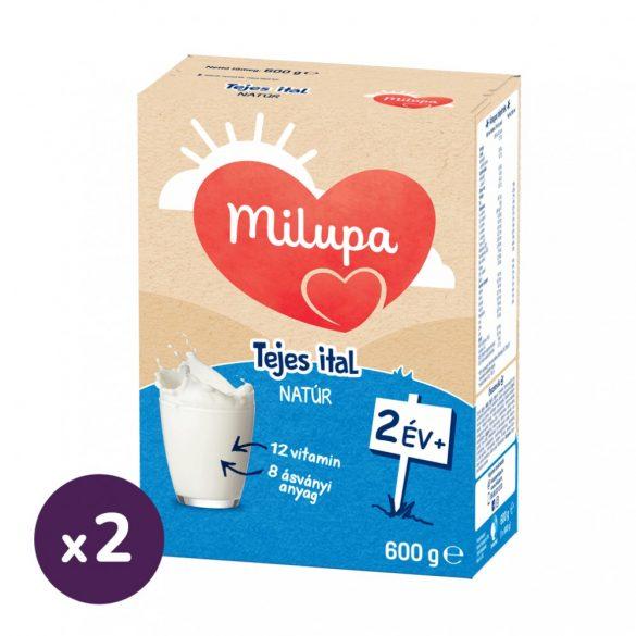 Milupa natúr tejes ital, 24 hó+ (2x600 g)
