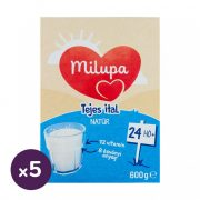 Milupa natúr tejes ital, 24 hó+ (5x600 g)