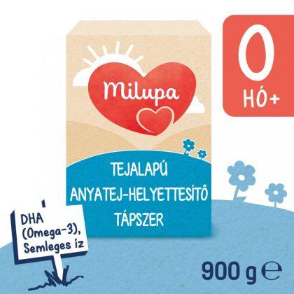 Milupa 1 anyatej-helyettesítő tápszer 0hó+ (900 g)