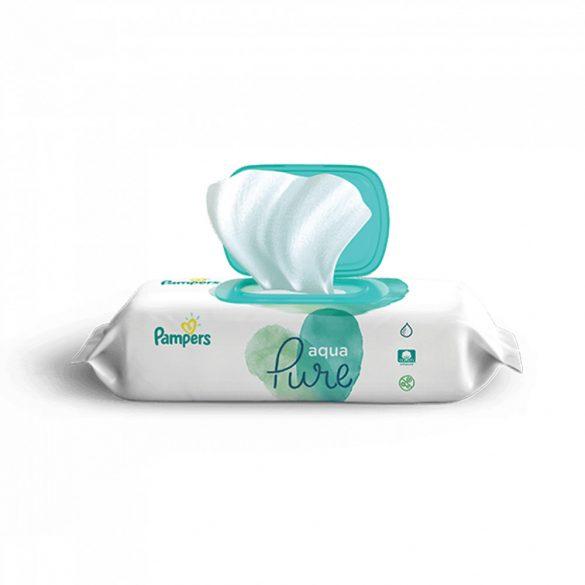 Pampers Aqua Pure nedves törlőkendő 48 db