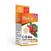 BioCo C+D Duo Retard C-vitamin 1000mg+D3-vitamin 2000NE filmtabletta (100 db)