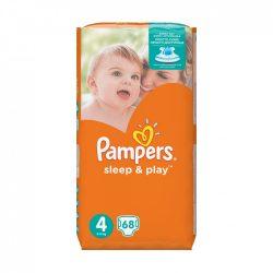 Pampers Sleep & Play pelenka, Maxi 4, 9-14 kg, 68 db-os