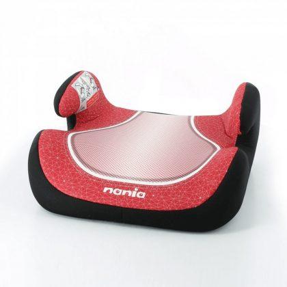 Nania Topo Comfort autós ülésmagasító 15-36 kg - Piros