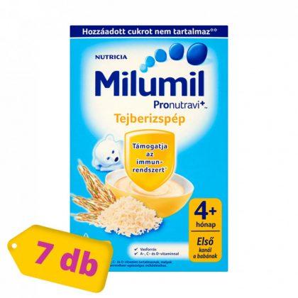 Milumil gluténmentes tejberizspép 4 hó+ (7x225 g)