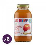 Hipp BIO őszibarack gyümölcsnektár C-vitaminnal, 4 hó+ (6x200 ml)