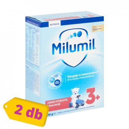 Milumil Junior 3+ gyerekital 36 hó+ (2x600 g)