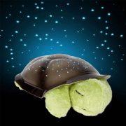 Világítós plüssteknős - Csillagos égbolt lámpa