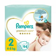 Pampers Premium Care pelenka, Mini 2, 4-8 kg, 94 db