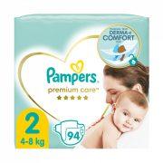 Pampers Premium Care pelenka, Mini 2, 4-8 kg, 94 db