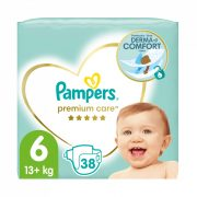 Pampers Premium Care pelenka, Junior 6, 13 kg+, 38 db