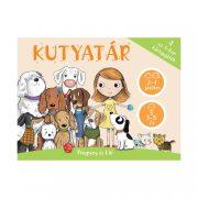 Pitypang és Lili Kutyatár - 4 az 1-ben kártyajáték
