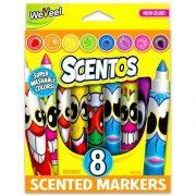 Scentos illatos filctoll készlet neon színekkel (8 db)
