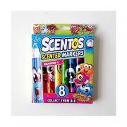 Scentos illatos filctoll készlet élénk színekkel (8 db)