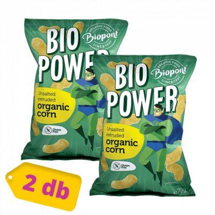 Biopont Bio power kukorica - sótlan (2x70 g)