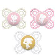MAM Perfect start szilikon cumi 0 hó+ (arany felhő-nap)