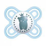 MAM Perfect start szilikon cumi 0 hó+ (kék maci)