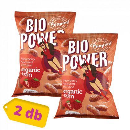 Biopont Bio power kukorica - eperporral (2x70 g)