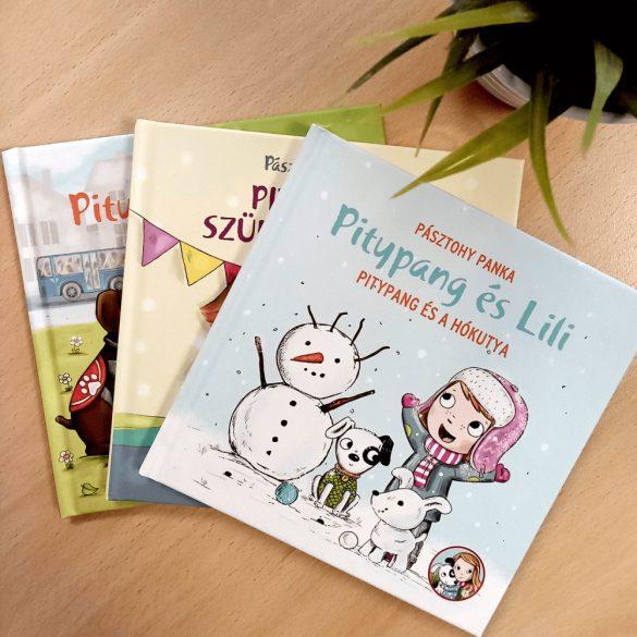 Pitypang és Lili - Pitypang és a hókutya - Pásztohy Panka