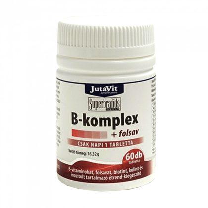 Jutavit B-komplex+folsav tabletta (60 db)