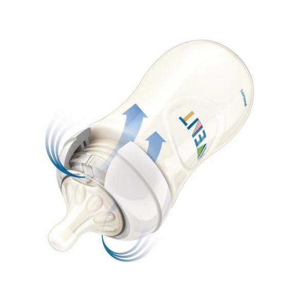 Avent SCF627/22 Natural cumisüveg PP 260 ml vizilovas(lányos)