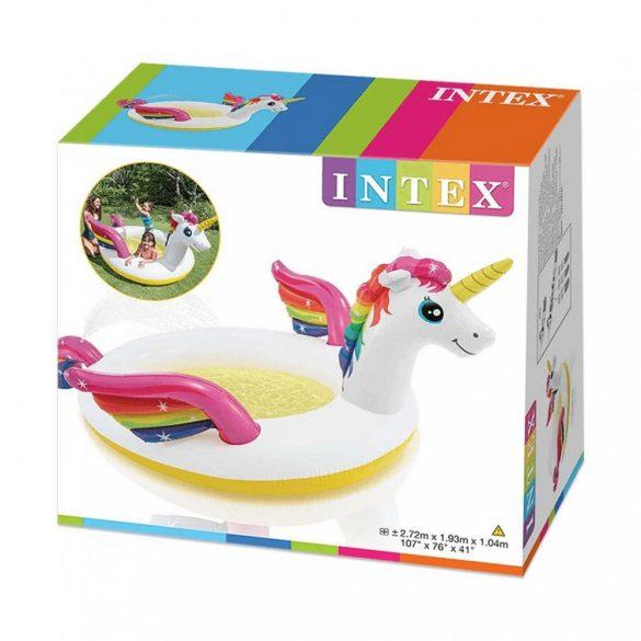 INTEX Unikornis élménymedence (272x193x104 cm)