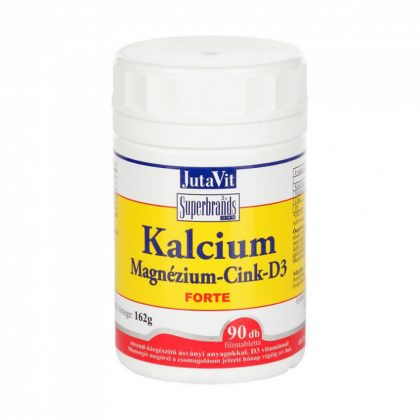 Jutavit Calcium/Kalcium-Magnézium-Cink tabletta (90 db)