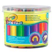 Crayola 24 db színes vastag viaszkréta