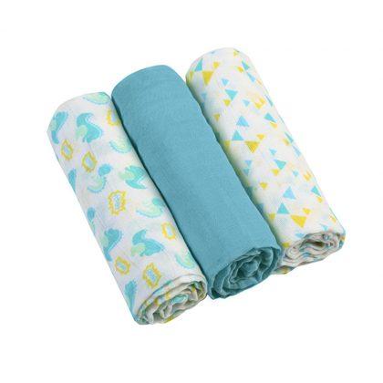 BabyOno textilpelenka - kék (3 db)