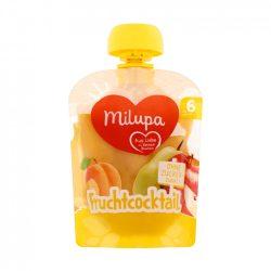 Milupa gyümölcskoktél vegyes gyümölcspüré 6 hó+ (90 g)
