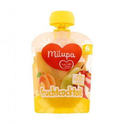 MEGSZŰNT - Milupa gyümölcskoktél vegyes gyümölcspüré 6 hó+ (90 g)
