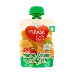 Milupa mangó-narancs-alma gyümölcspüré 6 hó+ (90 g)