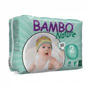 Bambo Nature öko pelenka, Mini 2, 3-6 kg, 30 db