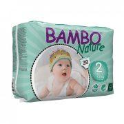 MEGSZŰNT - Bambo Nature öko pelenka, Mini 2, 3-6 kg, 30 db