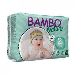 Bambo Nature ökopelenka, Mini 2, 3-6 kg, 30 db