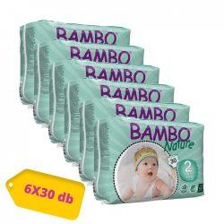 Bambo Nature ökopelenka, Mini 2, 3-6 kg HAVI PELENKACSOMAG 6x30 db