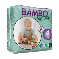 Bambo Nature ökopelenka, Maxi 4, 7-18 kg, 30 db