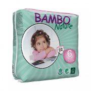 Bambo Nature öko pelenka, XL 6, 16-30 kg, 22 db