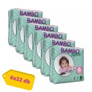 Bambo Nature öko pelenka, XL 6, 16-30 kg, HAVI PELENKACSOMAG 6x22 db
