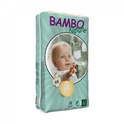 Bambo Nature öko pelenka, Midi 3, 5-9 kg, 66 db