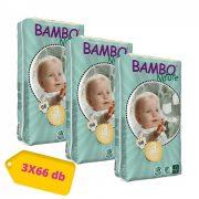 Bambo Nature öko pelenka, Midi 3, 5-9 kg HAVI PELENKACSOMAG 3x66 db