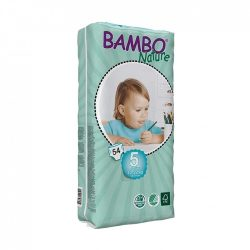 Bambo Nature öko pelenka, Junior 5, 12-22 kg, 54 db