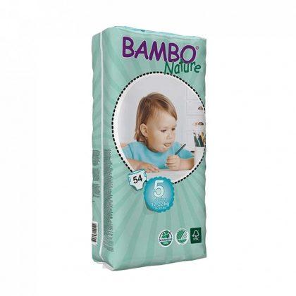MEGSZŰNT - Bambo Nature öko pelenka, Junior 5, 12-22 kg, 54 db