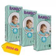Bambo Nature öko pelenka, Junior 5, 12-22 kg HAVI PELENKACSOMAG 3x54 db