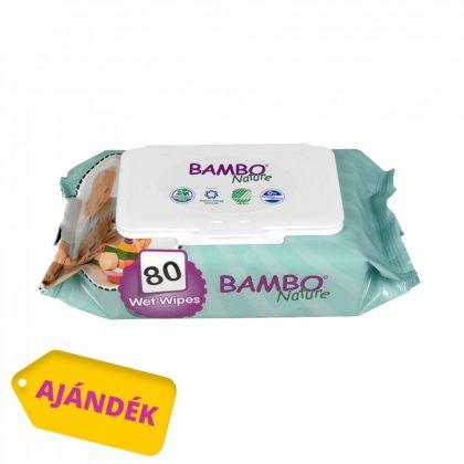 Bambo Nature öko pelenka, Junior 5, 12-22 kg PELENKACSOMAG 2x54 db