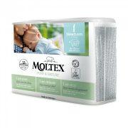MOLTEX Pure&Nature öko pelenka, Újszülött 1, 2-4 kg, 22db