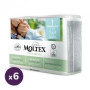 MOLTEX Pure&Nature öko pelenka, Újszülött 1, 2-4 kg HAVI PELENKACSOMAG 132 db
