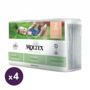 MOLTEX Pure&Nature öko pelenka, Mini 2, 3-6 kg HAVI PELENKACSOMAG 152 db