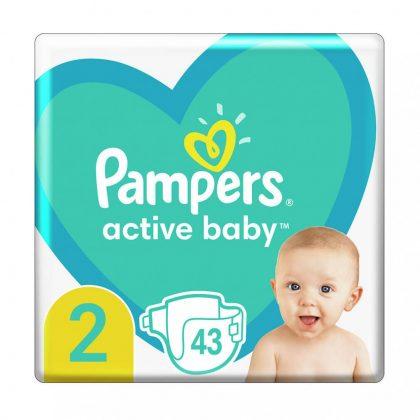Pampers New Baby pelenka, Mini 2, 4-8 kg, 43 db