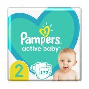 Pampers New Baby pelenka, Mini 2, 4-8 kg, HAVI PELENKACSOMAG 172 db