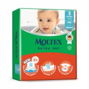 MOLTEX Extra Dry nadrágpelenka, Junior 5, 11-16 kg, 40 db